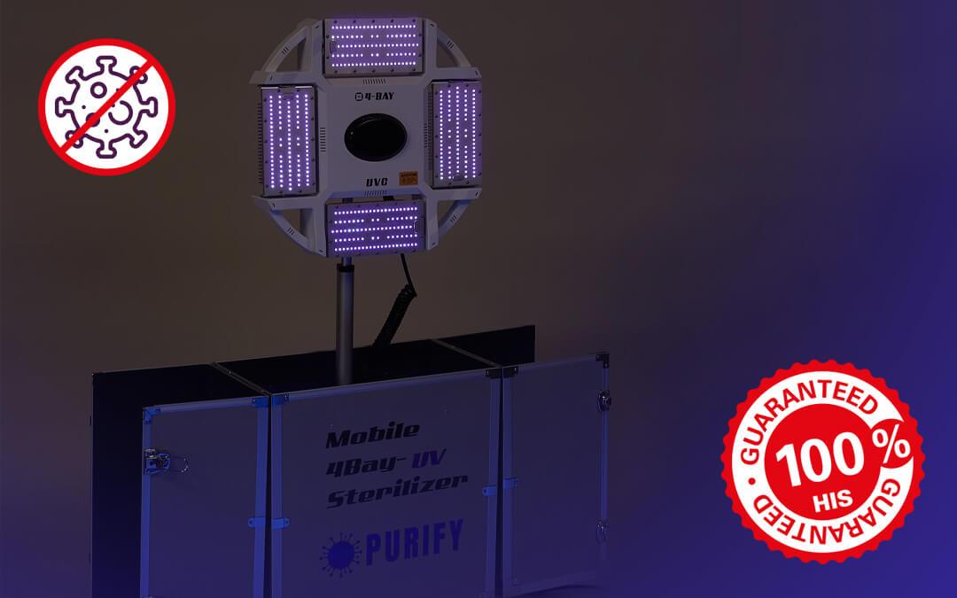 Robot trekt ten strijde tegen COVID-19 en andere ziektes